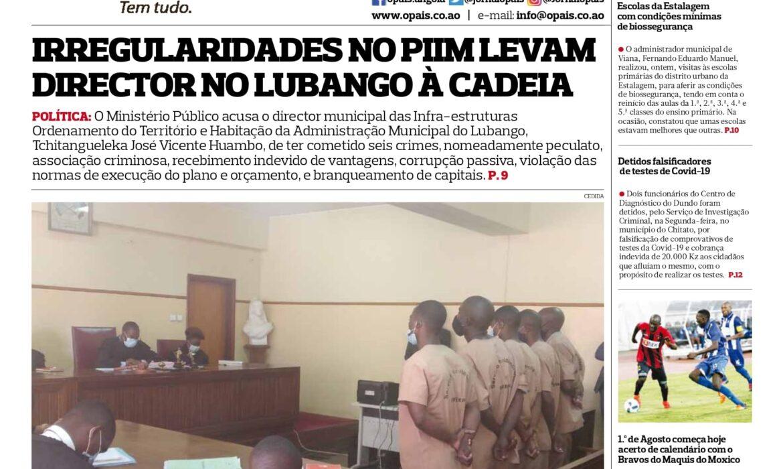 Editorial: Angola é una e indivisível