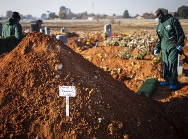 África ultrapassa os 100 mil mortos por Covid-19