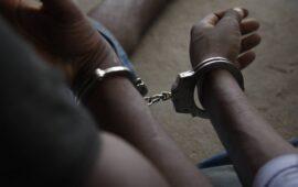 Polícia deteve dois homens por alegado furto de travessas e carris da linha férrea