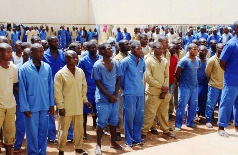 Covid-19: reclusos em Menongue recebem material de biossegurança