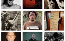 Centenas de trabalhadores do sector artístico português postaram fotos de desagrado com a política cultural
