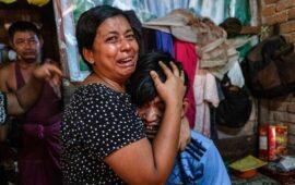 Cerca de 3.000 pessoas fogem para a Tailândia após  ataques aéreos do exército de Mianmar a aldeias