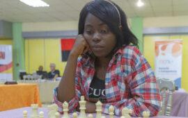 """Esperança Caxita: """"O xadrez é pouco valorizado em Angola"""""""