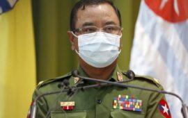 Junta militar diz querer acabar com anarquia em Myanmar