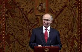 Última formalidade para Putin concorrer  a mais mandatos aprovada pela Duma