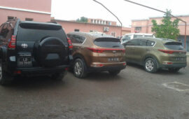 SIC recupera na Namíbia viaturas roubadas em Luanda