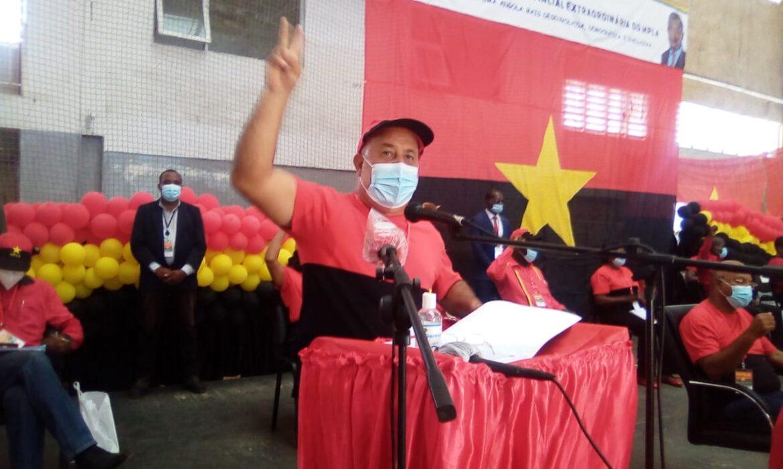 Luís Nunes confirmado novo primeiro secretário do MPLA em Benguela
