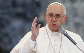 Papa apela ao fim do conflito entre a Rússia e a Ucrânia