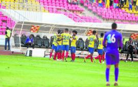 Horoya bate Petro no Estádio 11 de Novembro