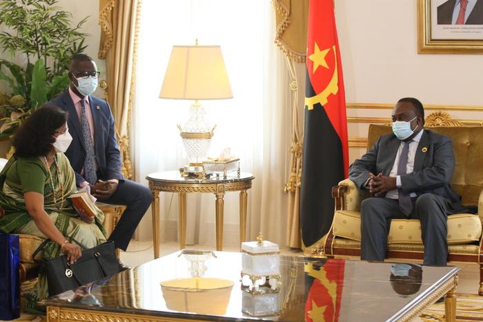 Índia busca reforço da cooperação parlamentar com Angola