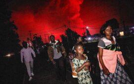 República Democrática do Congo ordena evacuação de Goma após a erupção do vulcão