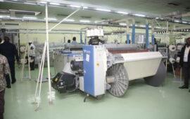 Textang II produz 250 mil metros de tecido por mês