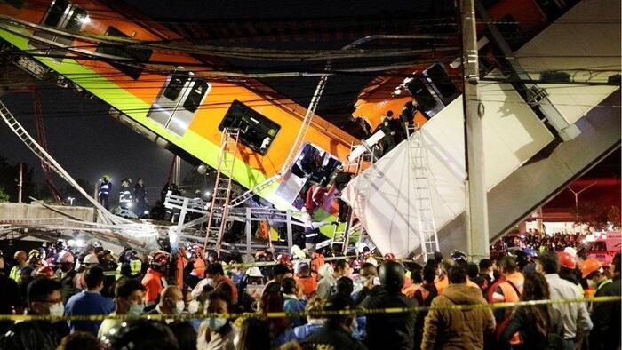 Desabamento de viaduto do metro no México deixa ao menos 23 mortos e 65 feridos