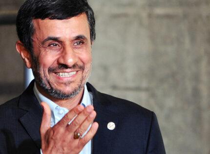 Ex-presidente linha-dura do Irão, Mahmoud Ahmadinejad concorre novamente