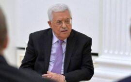 Líder Palestiniano acusa Israel de crimes de guerra