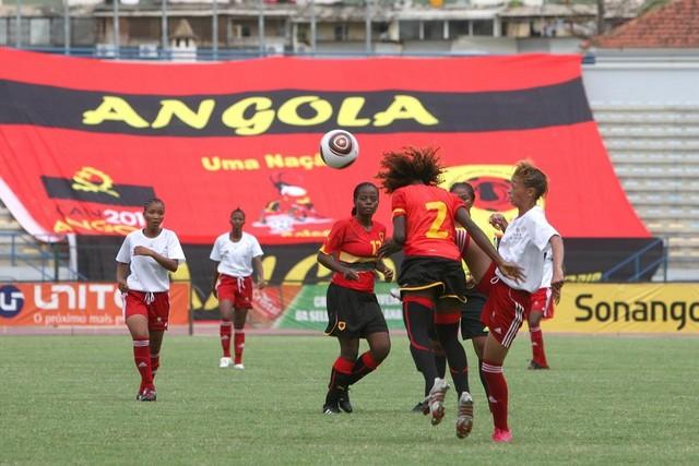 Selecção feminina de futebol mede forças diante do Botswana