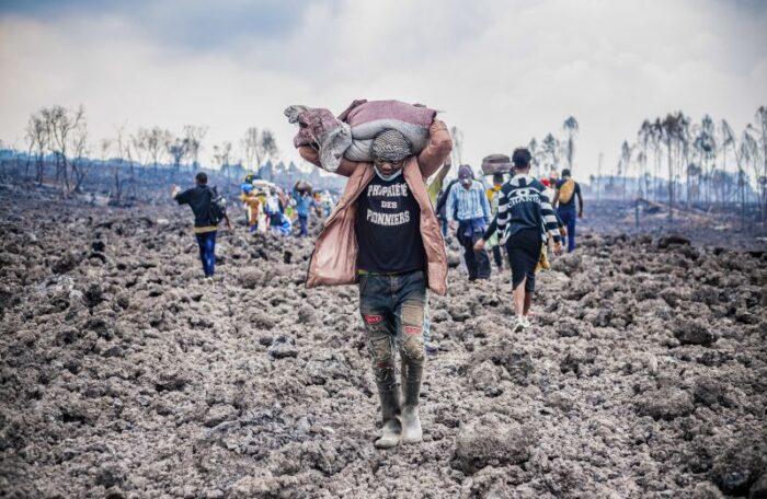 Milhares de pessoas regressam a Goma depois de erupção de vulcão