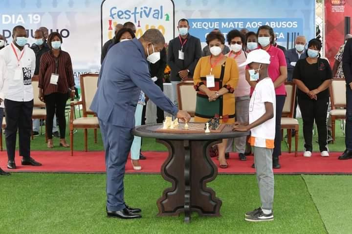 Presidente da República recomenda promoção da aprendizagem do xadrez