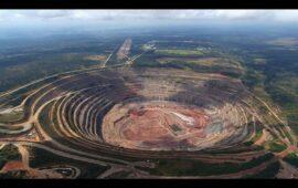 Exploração inadequada deixa mina diamantífera à beira da falência