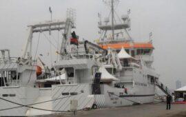 Navio Baía Farta de volta às águas angolanas para reforço da aposta na 'Economia Azul'