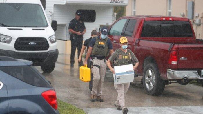 Desaparecimento de Gabby Petito FBI fez buscas em casa do noivo
