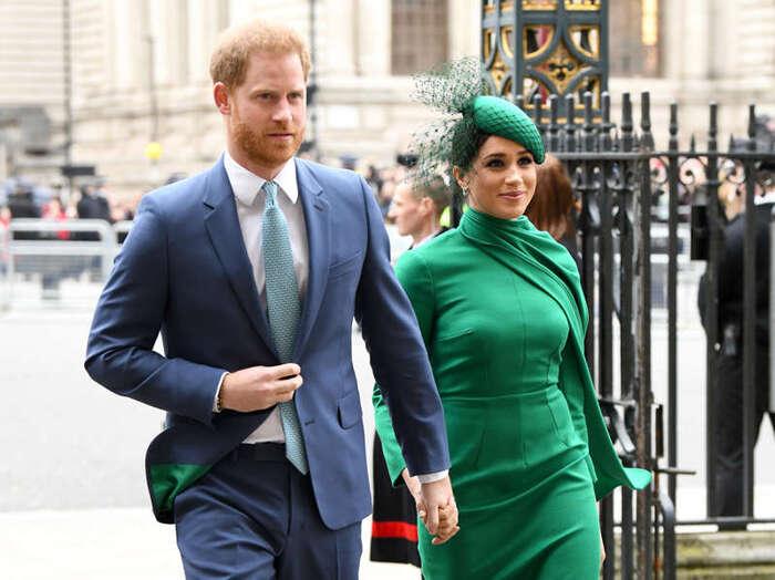 Meghan Markle e príncipe Harry protagonizam capa da revista 'Time'