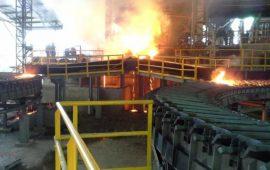Companhia siderúrgica do Cuchi conta com 250 toneladas de ferro guza/dia