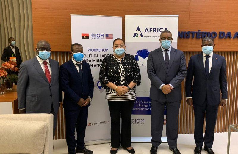 Angola e OIM traçam estratégias para a elaboração da política laboral para migrantes